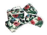 Polyester met het Af:drukken van de Bloem Dame Makeup Bags, Kosmetische Zakken