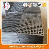 Сталь углерода, лист металла нержавеющей стали алюминиевый Perforated
