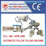 Automatische het Vullen van het Hoofdkussen Machine met Goedgekeurde de Certificatie van Ce (zxj-380+hfm-2000)