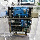 Водоструйная машина сотка тени с электронным двойным фидером сопла