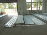 La toiture ondulée de fibre de verre de panneau de FRP/en verre de fibre lambrisse W171015