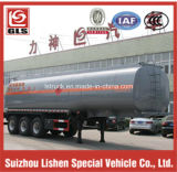 3-Axle Single Tire 42cbm Light Fuel Tank Semi Trailer