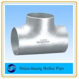 Te desigual inconsútil de la instalación de tuberías de acero inoxidable de A403 Wp316L