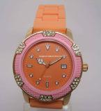 2013 Mesdames montres en silicone (HAL-2400)