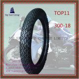 Lange Lebensdauer des ISO-Nylon-6pr, Qualitäts-Motorrad-Gummireifen 300-18