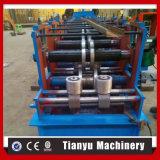 El corte hidráulico y el sistema de perforación CZ forman el rodillo que forma la máquina