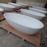 Vasca da bagno indipendente, vasca di bagno acrilica di pietra di modellatura