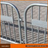 A barreira ao ar livre está a barreira do controle de multidão