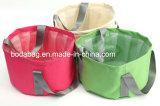 PVC防水シートの携帯用Foldable円形の整形魚のバケツの防水バケツ(BDY-1709052)