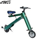 Tronco de automóveis Mini Ebike dobrável com estrutura em liga de alumínio durável e duas rodas de 8 polegadas