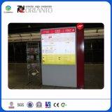 Signe en aluminium vertical extérieur personnalisé pour des poteaux indicateurs de stationnement
