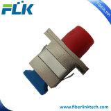 Hembra del tabique hermético al adaptador óptico híbrido femenino de fibra