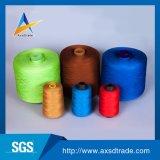 La base del 100% hizo girar color teñido del hilo de coser 40s 2 del poliester