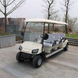 Carrello di golf elettrico a pile approvato Ce del cavo 6 Seater