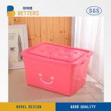 Caixa de armazenamento de plástico para uso doméstico grossista 10L