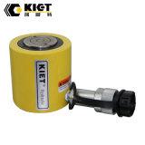 Bas profil à action simple cylindre hydraulique télescopique léger