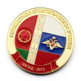 Hechos a mano barata Abu Dhabi oro antiguo militar acabado de armadura de Dios Desafío Monedas conmemorativas