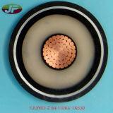 Câble d'alimentation de cuivre à un noyau de gaine de PVC isolé par XLPE de conducteur