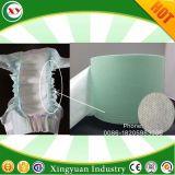 Prodotto non intessuto idrofobo impermeabile del polsino del piedino della barriera del pannolino