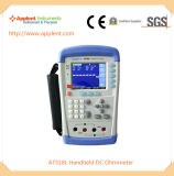 중국 (AT518L)에 있는 휴대용 마이크로 저항전류계 제조자