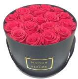 서류상 마분지 선물 꽃 포장하거나 로즈 둥근 상자