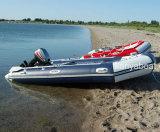 Barco de goma del barco inflable caliente de la venta los 2.0m-6.5m de Liya con el motor