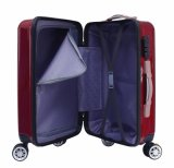Багаж оптовой пленки ABS+PC перемещая, чемодан способа (XHP102)