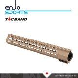 Picatinny Schiene Keymod Handguard Kohlenstoff-Faser-Zusammensetzung (G07K15)