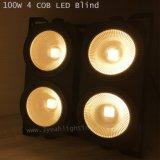 熱い販売4*100Wの穂軸の暖かい白LEDの視覚を妨げるものライト聴衆ライト
