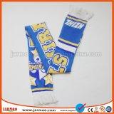 Вязки акриловый поощрения шаль из жаккардовой ткани с логотипом