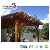 Pérgola de madera al aire libre del toldo del jardín WPC para la venta