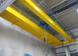 Pont roulant d'entrepôt de câble métallique de machine électrique d'élévateur