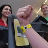 Weicher Kurbelgehäuse-BelüftungRFID Wristband für Krankenhaus