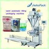 大きいパッケージ(JAS-100)のための半自動粉の包装機械