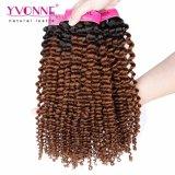 GroßhandelsRemy brasilianisches Ombre Haar-verworrene Rotation-Farbe T1b/4 Yvonne-