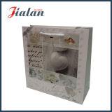 Sac de transporteur de papier bon marché estampé par logo fait sur commande Wedding de modèle