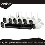 720p 8chs de Uitrusting van de Camera NVR van wi-FI IP van het Toezicht van de Veiligheid van kabeltelevisie