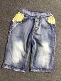 卸し売り偶然の方法子供はデニムのジーンズをショートさせる