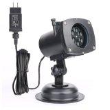 Gute preiswerte Ce/RoHS 12 Muster-abnehmbares Laser-Projektor-Licht für im Freiendekoration