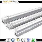 tubo di 1.2m 18W Plastic+Aluminum 90lm/W T8 LED