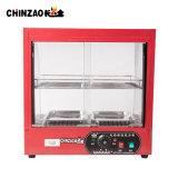 Электрическая витрина Zsg-65-2 среднего размера грелки индикации еды