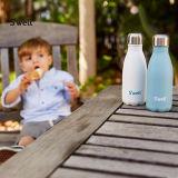 200 300 450 500ml 9 preiswerte Fabrik 17 25oz einfach, doppel-wandige Edelstahlthermos-Becher-Cup-Flaschen-kleine Kind-Kinder zu tragen