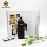 シャンプーの包装のための黒いプラスチック装飾的なシャンプーのびん(BRR-500)