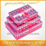 Изготовленный на заказ декоративные коробки подарка Cardbaord продают оптом с крышками