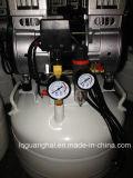 1,5 kw en silencio sin aceite compresor de aire con depósito vertical