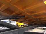 Carro de vaciado resistente de 5 árboles 80 toneladas que minan el descargador con Thechnology euro
