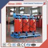 Epoxidharz-Form 10kv 30-2500kVA 3 Phasen-Energien-Häufigkeitsverteilungskurves-Transformator Dyn11 Yyn0