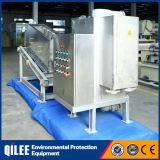 Prensa de desecación Volute del tratamiento SUS304 del lodo de las aguas residuales del alimento y de la bebida