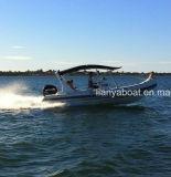 Liya 6,6M Cubierta lancha rápida bote inflable rígido Hypalon