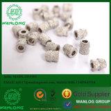 중국 Wanlong 상표 대리석 채석장, 직경을%s 진공에 의하여 놋쇠로 만들어지는 다이아몬드 구슬: 11mm 의 빠른 편집